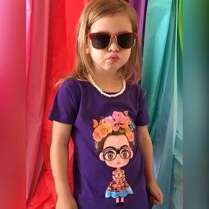 Other - Little Girl Frida Kahlo Graphic Tee