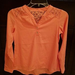 Japan Rags Other - Beautiful peach colored girls blouse