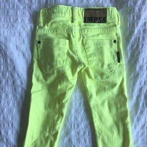 Imps & Elfs Other - New European brand Imps&elfs neon yellow jeans