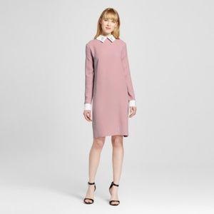 Dresses & Skirts - Victoria Beckham  COLLARED DRESS BLUSH COLOR