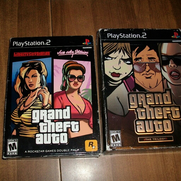 Gta trilogy and gta vice city stories and liberty