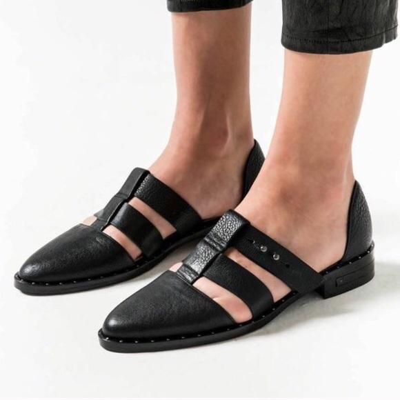 Freda Salvador Shoes - Freda Salvador lock t-strap flats