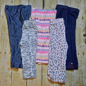 Other - Bundle of Girls Leggings Size 18-24 Months