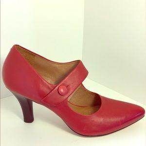 Corso Como Shoes - Corso Como Mary Jane Red Pumps