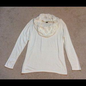 Womans Design 365 cowl neck sweater.