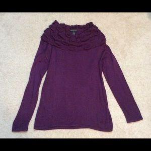 Woman's Design 365 cowl neck sweater.