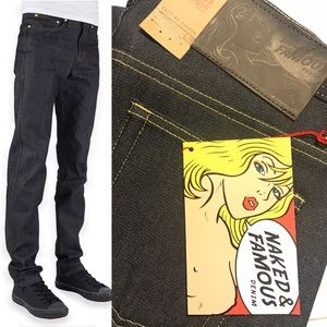 Naked & Famous Denim Other - NWT Naked & Famous Men's Jeans, Sz 32