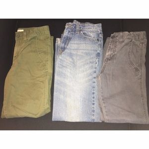 Bundle of Boys Sz 10 Pants