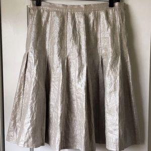 Etcetera Dresses & Skirts - Etcetera shiny full linen skirt