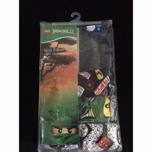 NEW in Package Lego Ninjago Boys briefs Sz 8