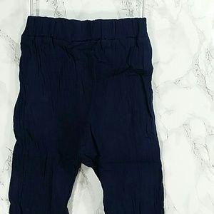 Other - Navy Blue Crepe jogger pants. Kids