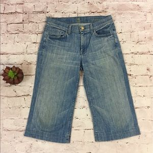 7 for All Mankind Cropped 'Ginger' Jeans