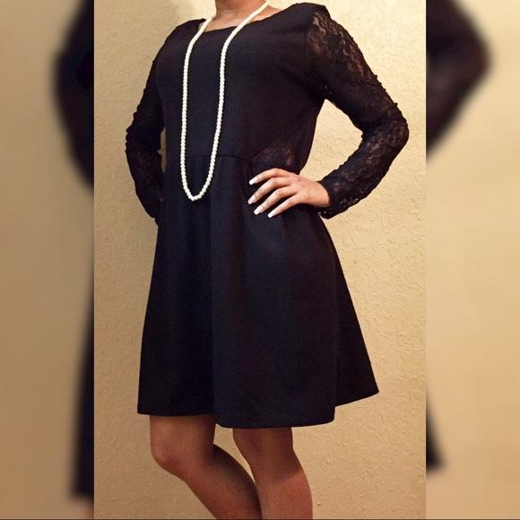 🛍️ Sale 🛍️ Cute Black Plus Size Dress