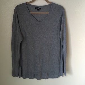 Trouve Sweaters - Trouve Loose V-neck Sweater