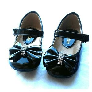 Bella Marie Mary Jane Toddler Girl Flats