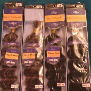 Four Seasons Accessories - Brand New Deep Wave Heat resistant Braiding Hair!