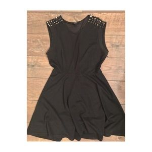 Worn Once! New! Forever21 Black Dress Size L