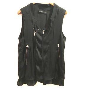 Paris Zara zipper top