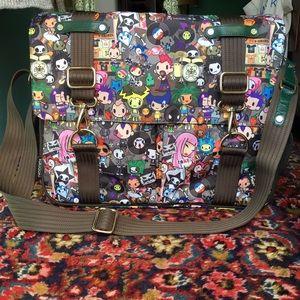 tokidoki Handbags - Tokidoki Concerto Punk Creativa Messenger Bag