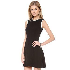 Shoshanna Dresses & Skirts - Shoshanna Black & Mint Crepe Naama Fit & Flare 👗