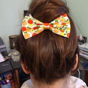 🍨BOGO 50% OFF🍨 諾 Fruit Print  Hair Bows