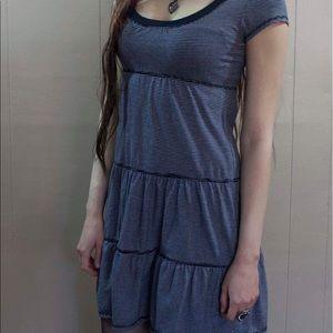 Cute, comfy striped T-dress