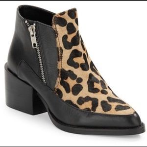 Leopard print leather boot Design Lab Lord&Taylor