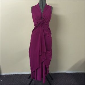 Gracia Dresses & Skirts - Gracia NWT Fuschia Berry High Low Dress Small