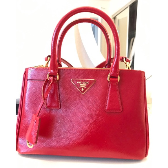 fd5fa06d2fd3 Prada Saffiano Mini Double Zip Crossbody Bag Red. M_590aae14522b45357e0151b2