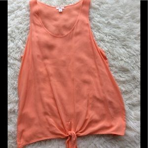 Nordstrom BP Tops - BP Peach Tank