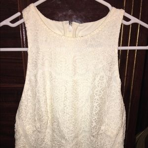 Mossimo Black Dresses & Skirts - Off-White lace dress