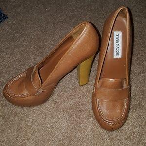 Steve Madden Shoes - Steven Madden penny loafer high heel