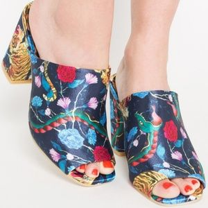 Iron Fist Shoes - Tiger Inside Slide Heels from Iron fist