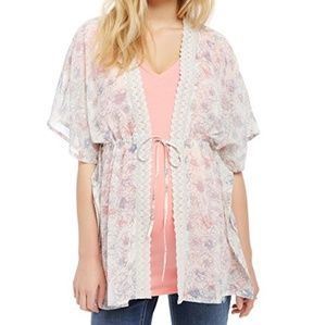 Motherhood Maternity Tops - Motherhood Maternity floral kimono top