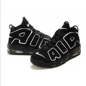 the latest dd1b2 52a38 Nike Shoes - Nike Air More Uptempo OG Scottie Pippen Black Whit