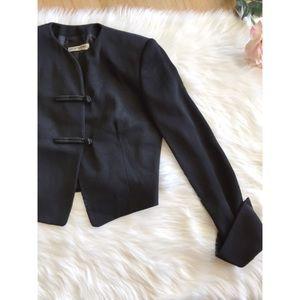 Emporio Armani Jackets & Blazers - Vtg90s Emporio Armani Military Cropped Blazer S M