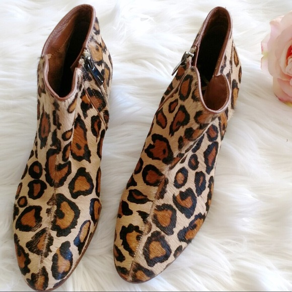 c5a5bab6a FlashSale❗️Sam Edelman Petty Leopard ankle Boots 8.  M 590b360ffbf6f9f679003dd3