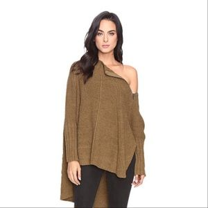 Free People Sweaters - Free People Spin Around Oversized Sweater