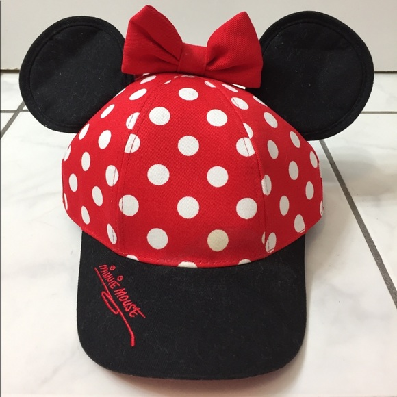 Disney Accessories - Disney Minnie Ears SnapBack 7d7f3a7b3ae