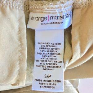 Liz Lange for Target Pants - SALE Maternity Khaki Jaggings Skinny Pants