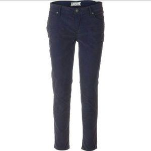 Free People Rolled Crop Corduroy Pants Size 31