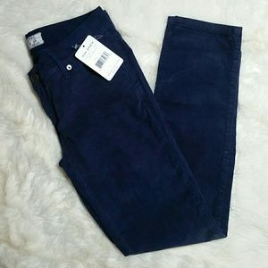 Free People Rolled Crop Corduroy Pants Size 25