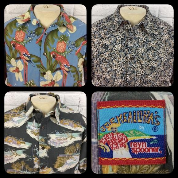 c54f8bc7 Reyn Spooner Shirts | Joe Kealohas Hawaiian Aloha 3 | Poshmark