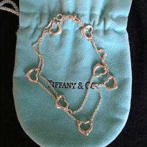 Tiffany & Co. Jewelry - 1 HR ✨Tiffany & Co. Elsa Peretti 7 Heart Necklace