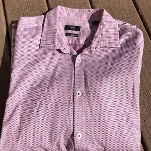 Hugo Boss casual button down long sleeve shirt