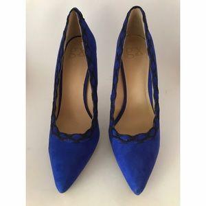 GX by Gwen Stefani Shoes - Gwen Stefani- GX- Black/Blue Pump- size 10