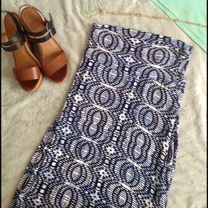 Loveappella Dresses & Skirts - StitchFix Loveappella Deanne Printed Maxi Skirt