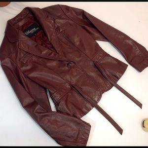 Wilsons Leather Jackets & Blazers - Wilson Beautiful Leather Jacket  Sz 10 Burgundy