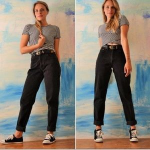 Urban Outfitters Denim - Vintage 90s High Waisted Black Jeans