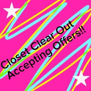 Other - **CLOSET CLEAR OUT** ⚡️⚡️